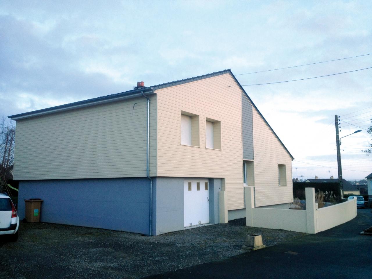 Derouet constructeur de maison bois en mayenne 53 for Isolation par exterieur maison
