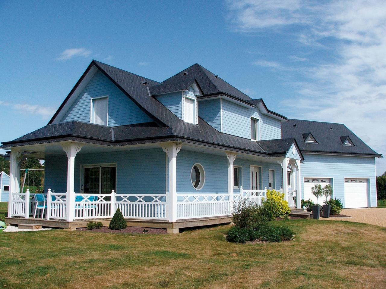 maison bois style louisiane