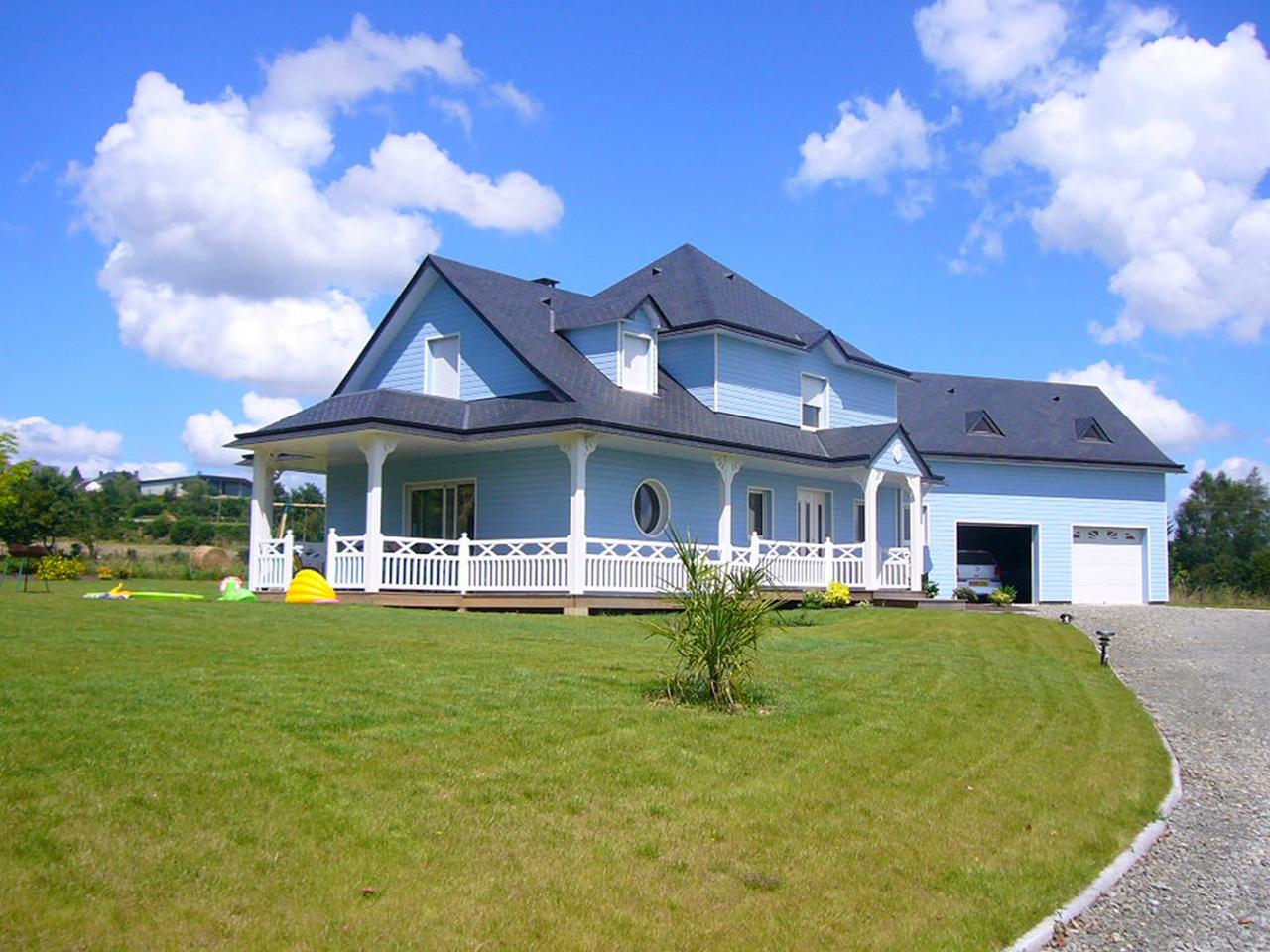 DEROUET constructeur de maison bois en Mayenne (53), expert en ...